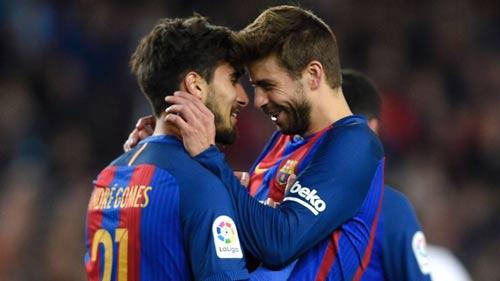 Barca: Lập cú đúp, Messi cán mốc 40 bàn - 3