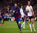Barca: Lập cú đúp, Messi cán mốc 40 bàn - 4