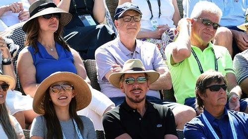 Bill Gates dự khán, Federer – Wawrinka bùng nổ - 3
