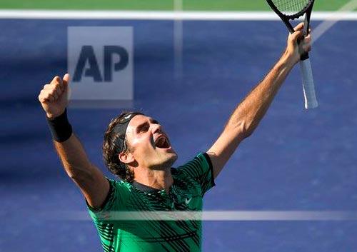 Bill Gates dự khán, Federer – Wawrinka bùng nổ - 6