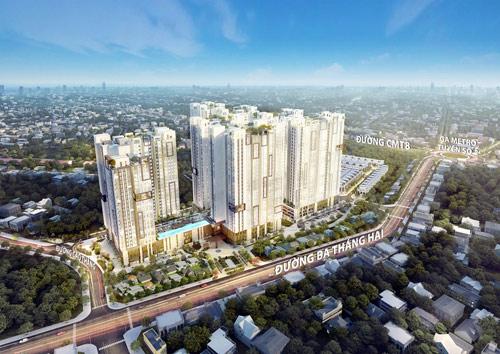 Sắp công bố tòa tháp đẹp nhất dự án HaDo Centrosa Garden - 1