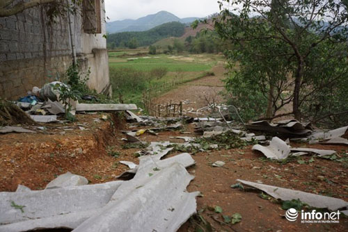 Thanh Hóa tan hoang sau trận mưa đá dày đặc hiếm thấy - 9