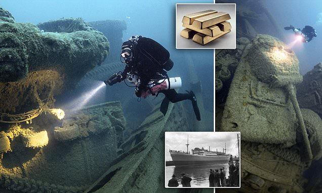 Anh: Trục vớt kho vàng 5,5 tỷ USD trong hàng loạt tàu đắm - 1