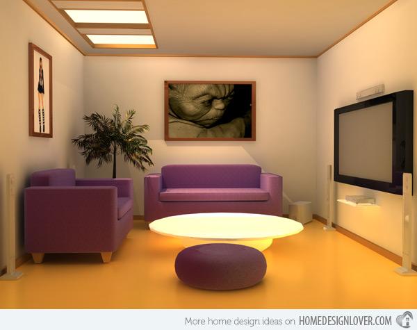 15 phòng khách đẹp mê ly ai cũng muốn là của nhà mình - 6