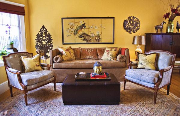 15 phòng khách đẹp mê ly ai cũng muốn là của nhà mình - 12