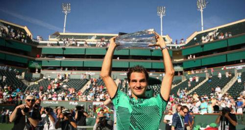 Tennis 24/7: Federer lập cú đúp kỉ lục ở Indian Wells - 1