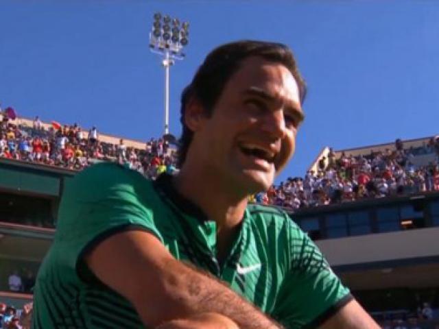 """""""Vua tennis"""" Federer: Người đến từ hành tinh khác"""