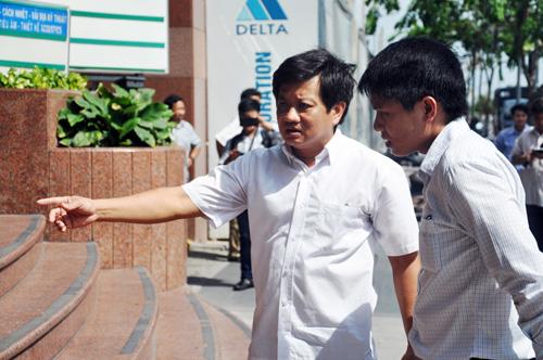"""Ông Đoàn Ngọc Hải: """"Lấn một tấc vỉa hè Nguyễn Huệ cũng phải đập"""" - 1"""