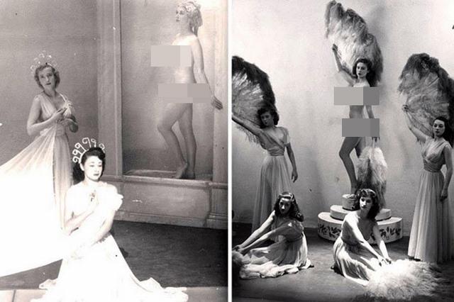 Lần đầu công bố ảnh nghệ sĩ múa khỏa thân năm 1950 ở Anh - 2