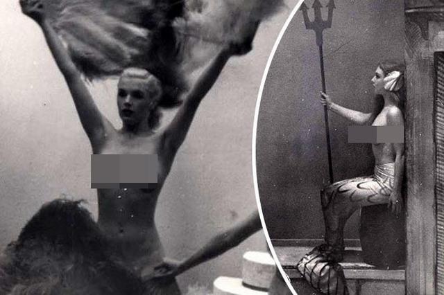 Lần đầu công bố ảnh nghệ sĩ múa khỏa thân năm 1950 ở Anh - 1