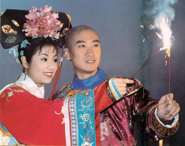 """Mối quan hệ lạ của Lâm Tâm Như và """"vua Càn Long"""" Trương Thiết Lâm - 6"""