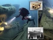 Thế giới - Anh: Trục vớt kho vàng 5,5 tỷ USD trong hàng loạt tàu đắm