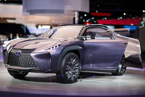 Lexus UX sắp thành hiện thực, dựa trên Toyota C-HR - 1