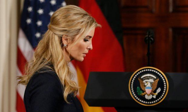 """Con gái Trump ngày càng mở rộng """"quyền hành"""" ở Nhà Trắng - 1"""