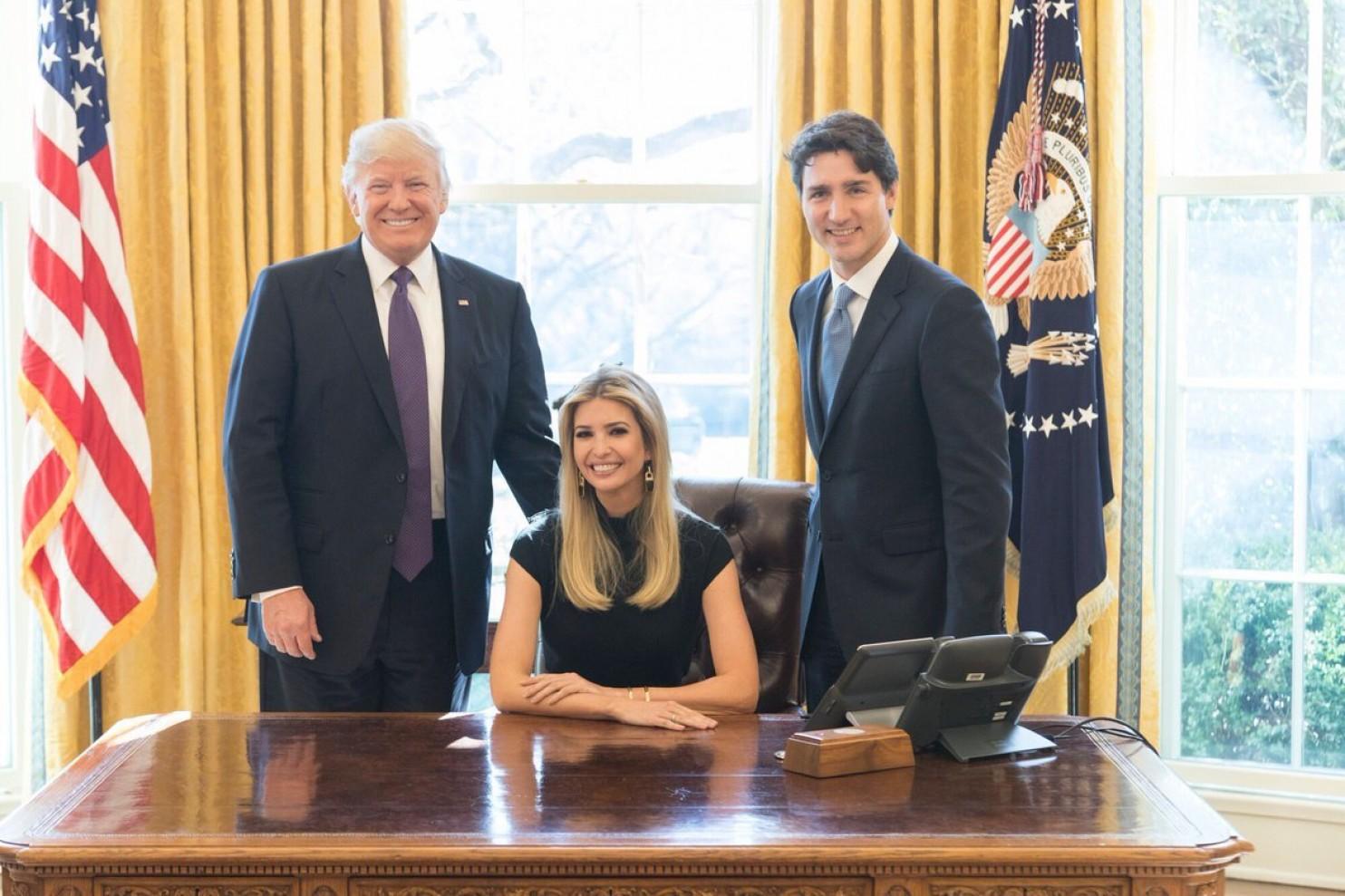 """Con gái Trump ngày càng mở rộng """"quyền hành"""" ở Nhà Trắng - 2"""