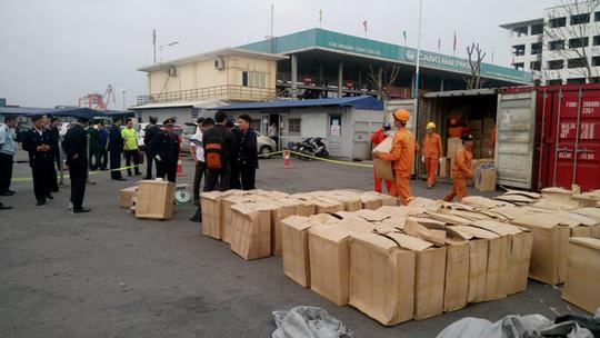Phát hiện 2 container nghi ma túy thảo mộc cực độc hại - 2