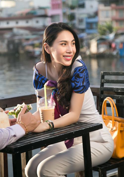Cuộc sống vợ chồng Thuỷ Tiên lên truyền hình quốc tế - 3