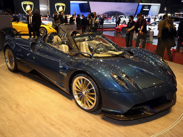 """Cận cảnh siêu xe """"hàng độc"""" Pagani Huayra Roadster - 1"""