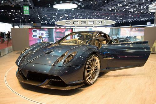 """Cận cảnh siêu xe """"hàng độc"""" Pagani Huayra Roadster - 2"""
