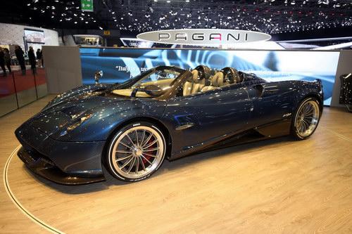 """Cận cảnh siêu xe """"hàng độc"""" Pagani Huayra Roadster - 4"""