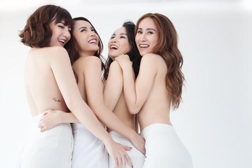 Giận nhau 10 năm, Yến Trang bất ngờ chụp ảnh nude cùng Mây Trắng - 1