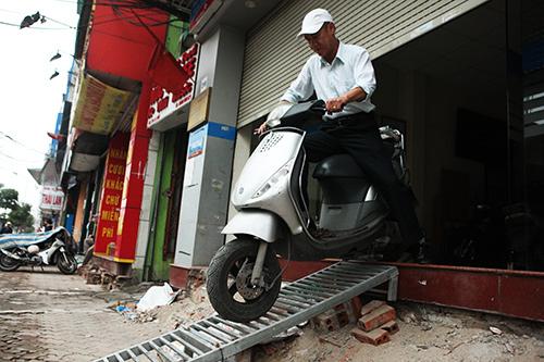 Những bậc tam cấp chuẩn nhất Hà Nội sau cơn lốc giành lại vỉa hè - 11
