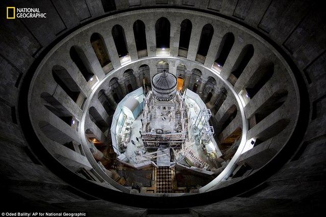 Lần đầu mở hầm mộ chôn cất Chúa Jesus cho khách vào thăm - 3