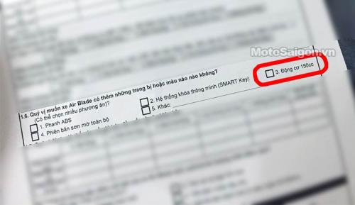 Lộ ảnh Air Blade 150cc mới, phía Honda Việt Nam nói gì? - 1