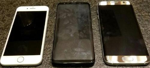 """Ảnh """"nóng"""" Samsung Galaxy S8 đọ dáng iPhone 7 - 2"""