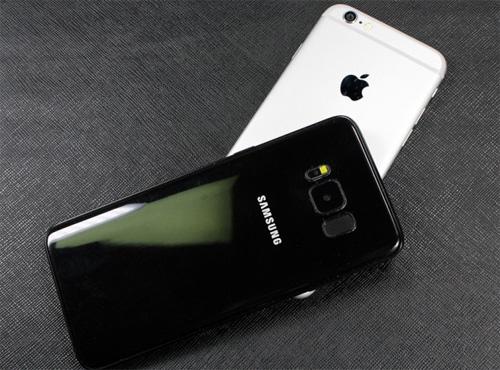 """Ảnh """"nóng"""" Samsung Galaxy S8 đọ dáng iPhone 7 - 5"""
