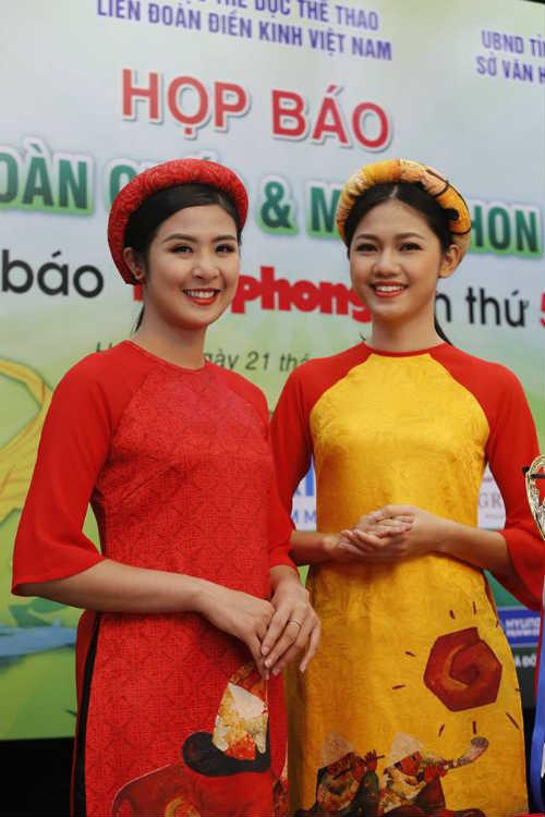 Hoa hậu Ngọc Hân tranh tài giải Việt dã toàn quốc - 1