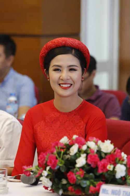 Hoa hậu Ngọc Hân tranh tài giải Việt dã toàn quốc - 5