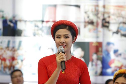 Hoa hậu Ngọc Hân tranh tài giải Việt dã toàn quốc - 7