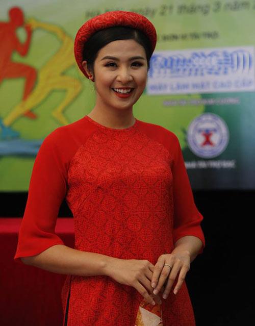 Hoa hậu Ngọc Hân tranh tài giải Việt dã toàn quốc - 6