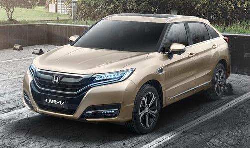 SUV lai coupe Honda UR-V giá từ 814 triệu đồng - 1