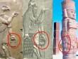 Video: Tượng thần cổ xưa đã biết cầm túi xách hiện đại?