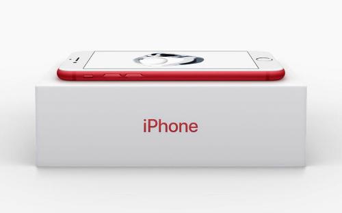 iPhone 7 và iPhone 7 Plus màu đỏ rực bất ngờ ra mắt - 1