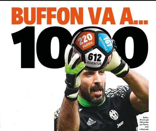 Buffon có trận thứ 1.000: Vạn lý trường thành ở Italia - 1