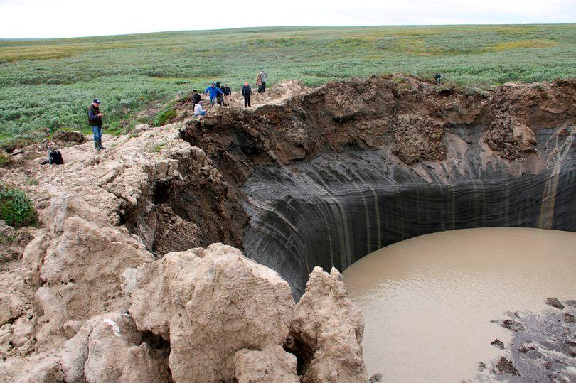 7.000 bóng khí metan khổng lồ dọa nổ tung ở Bắc Cực - 2