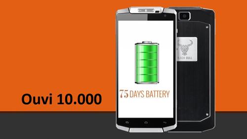 Điện thoại Ouvi pin lâu dành cho người hay di chuyển - 3