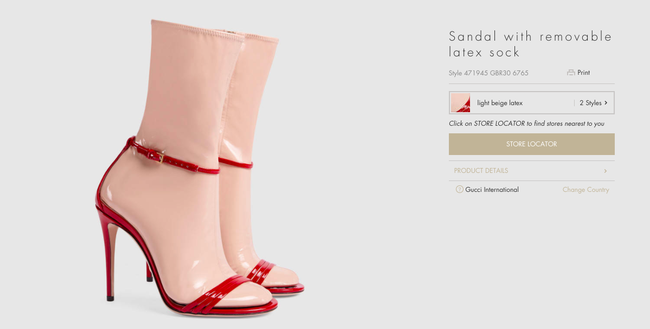 """Dân tình lại """"rần rần"""" với sandal tất nhựa giá 32 triệu - 2"""