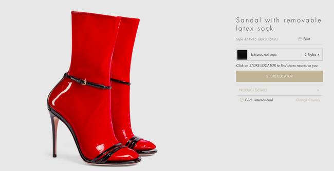 """Dân tình lại """"rần rần"""" với sandal tất nhựa giá 32 triệu - 3"""