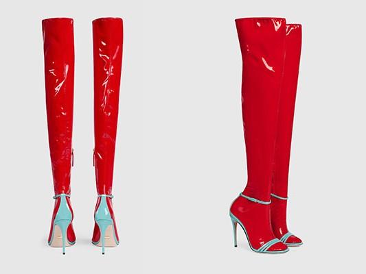 """Dân tình lại """"rần rần"""" với sandal tất nhựa giá 32 triệu - 4"""