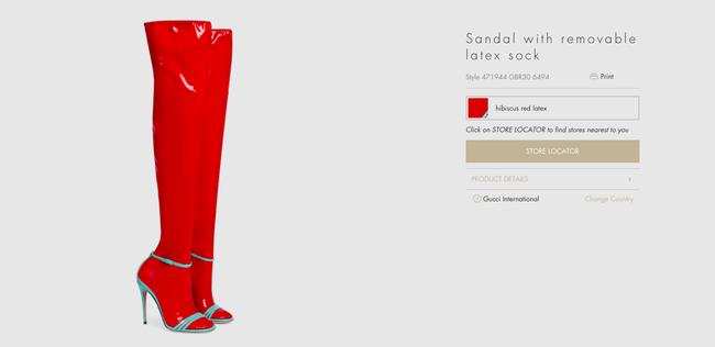 """Dân tình lại """"rần rần"""" với sandal tất nhựa giá 32 triệu - 5"""