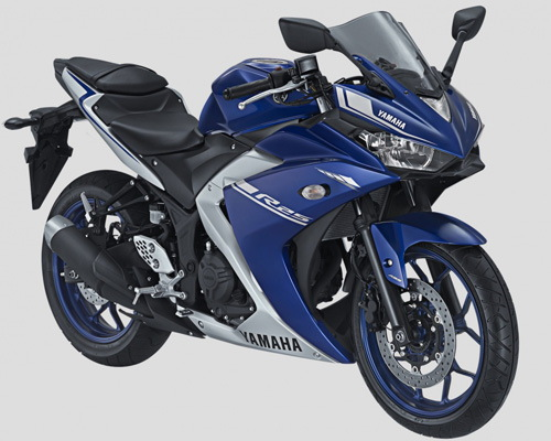 Yamaha YZF-R25 2017 giá 103 triệu đồng thêm màu mới - 1