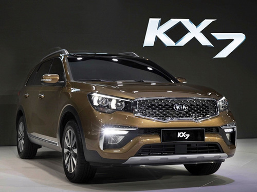 Kia KX7: Biến thể của Sorento, giá từ 593 triệu đồng - 2