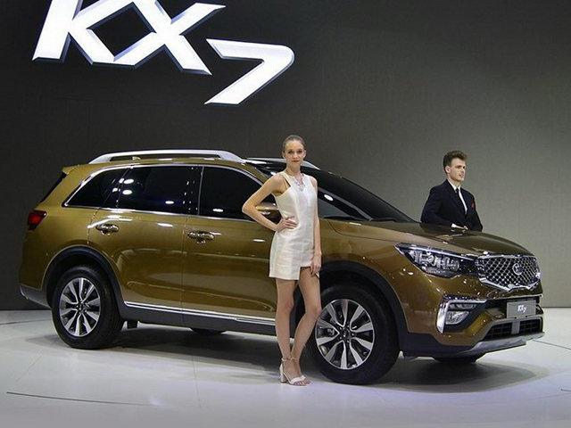 Kia KX7: Biến thể của Sorento, giá từ 593 triệu đồng - 1