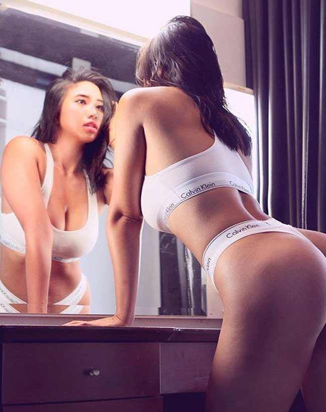 Một cô gái có biệt danh Jessica Baby Fat gần đây bỗng chốc nổi tiếng nhờ sở hữu đường cong nữ thần.