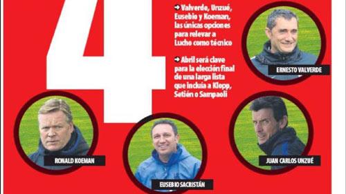 Barca rút gọn 4 ứng viên HLV: Có Koeman, không Allegri - 1