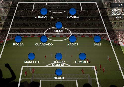 Siêu đội hình thế giới đối đầu: Messi lép vế Ronaldo - 2